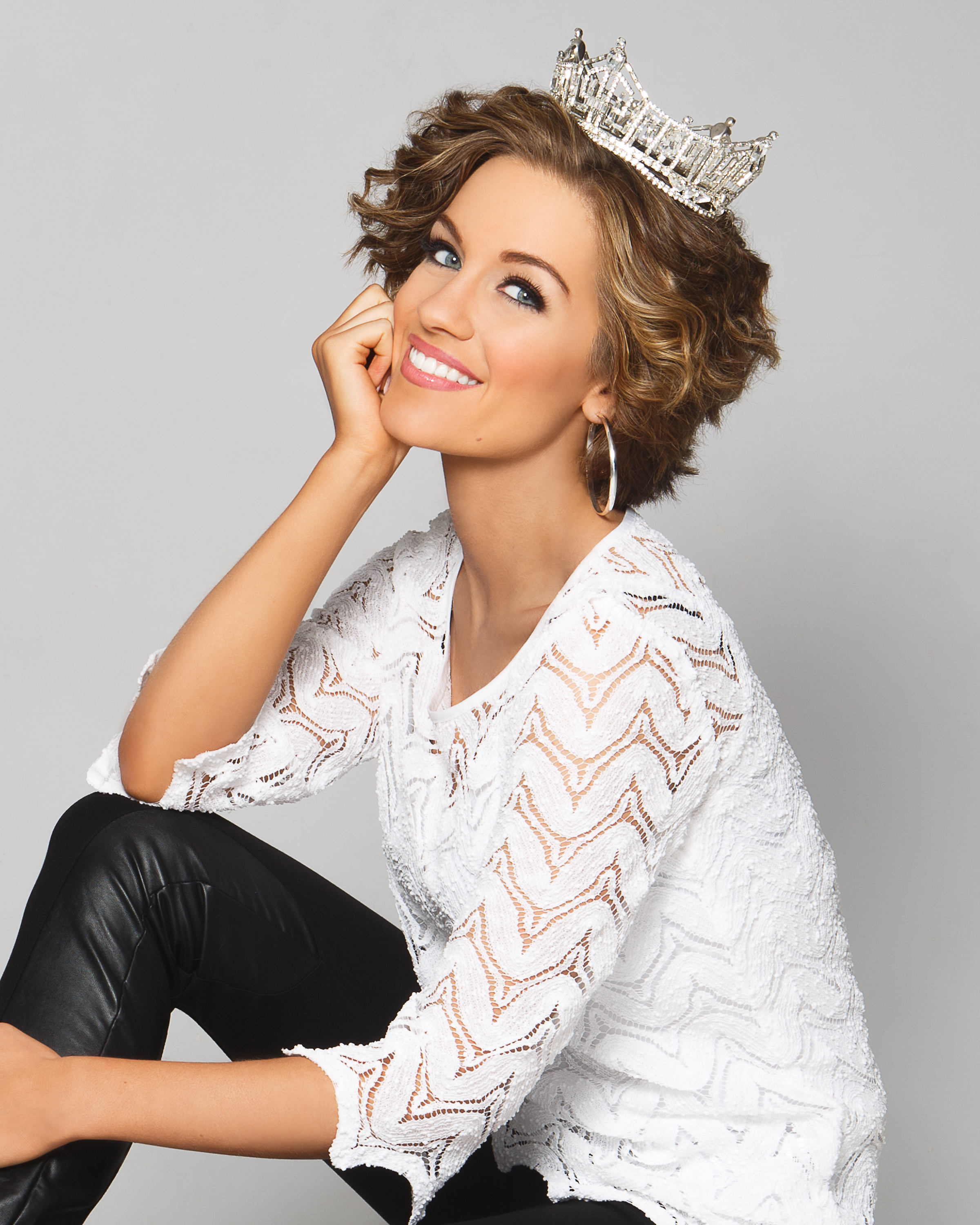 Miss America, Betty Cantrell. Hair and makeup by Meredith Boyd