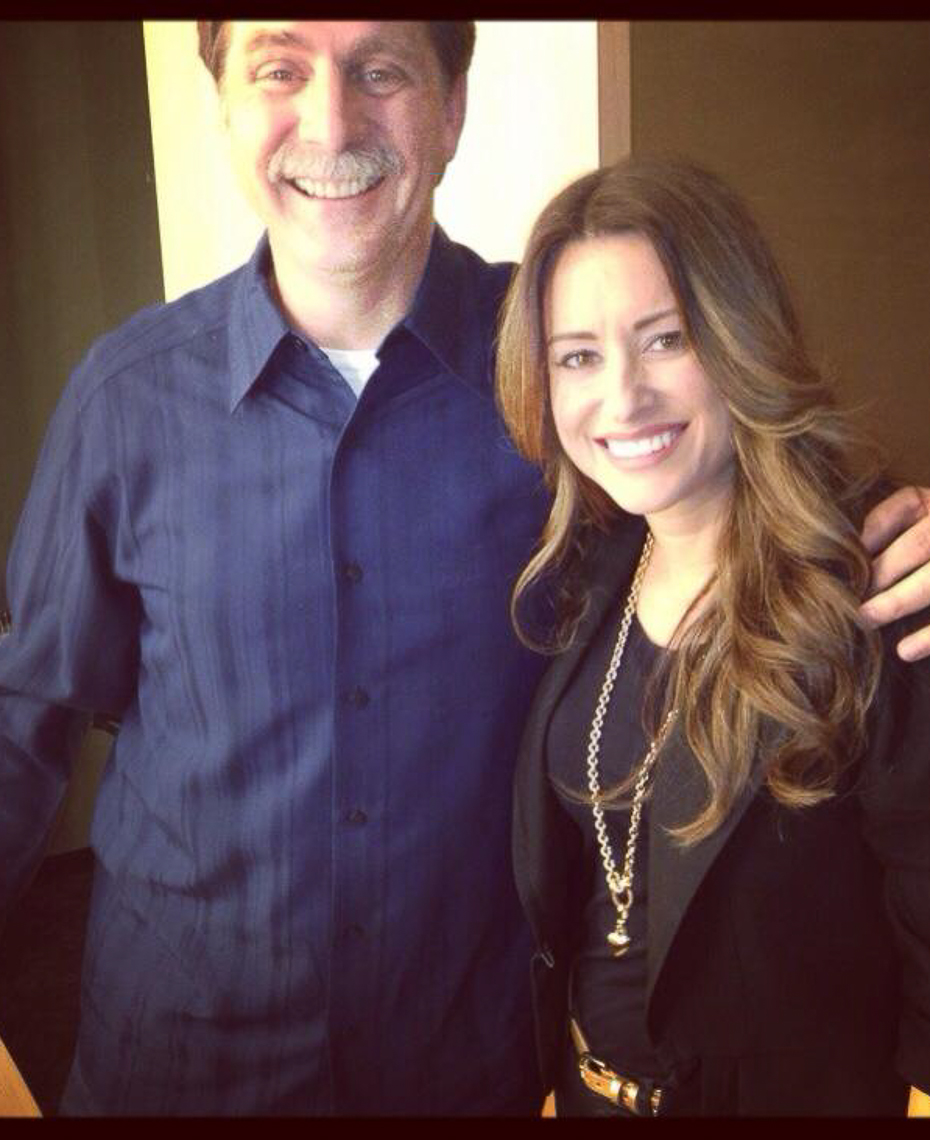 "With client, Jeff Foxworthy during media tour for ""Are you smarter than a 5th grader"""