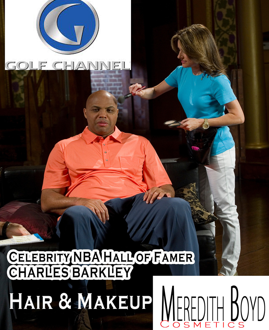 charles_barkley_golf_channel_nba_celebrity_Meredith_Boyd_makeup_hair_artist_atlanta_professional_2